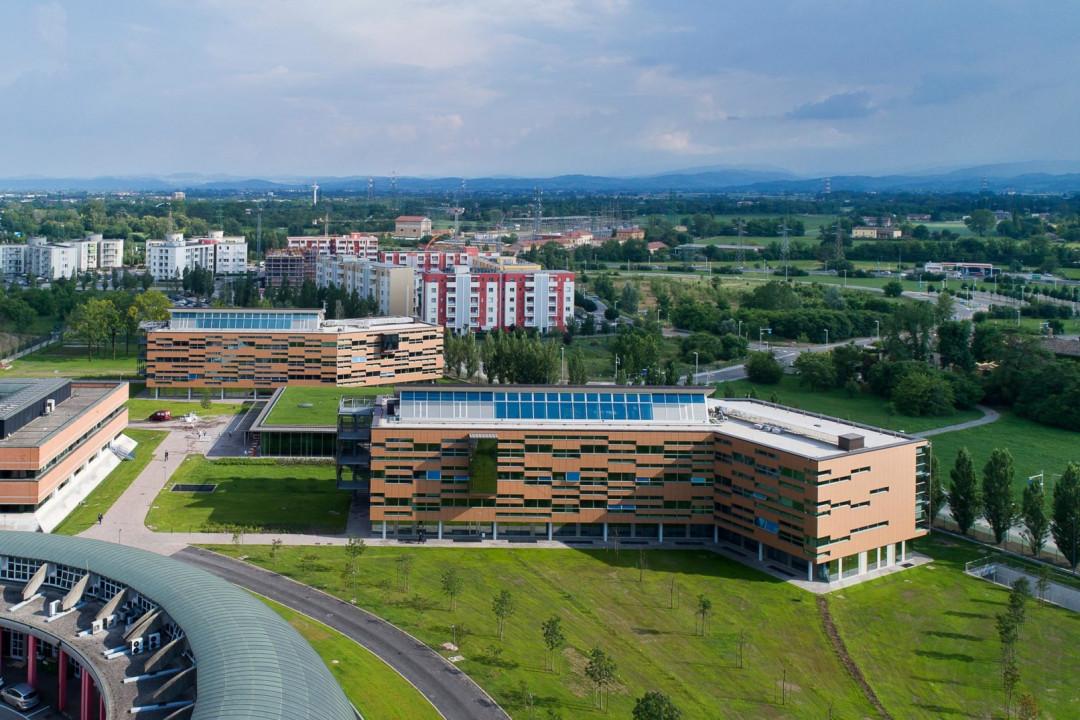 Credit Agricole Green Life, la nuova sede di Parma.